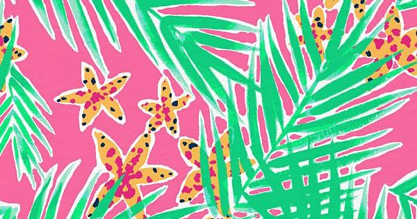 Palm Trees and Starfish!