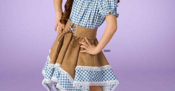 Adorable And Fashionable Cowgirl Costume For Children