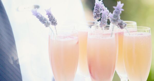 Availendar: Peach + Lilac Wedding Inspiration The tiniest bits of purple