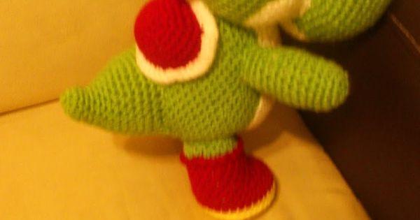Patron Amigurumi Mario Bros En Espanol : Nintendo Yoshi Amigurumi - Patron Gratis en Espanol http ...