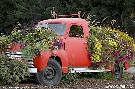 Sauvie Island Flower Truck Flower Truck Outdoor Gardens Country Gardening