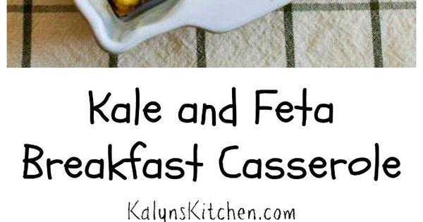Breakfast casserole, Feta and Kale on Pinterest