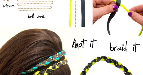 DIY hair accessories head band