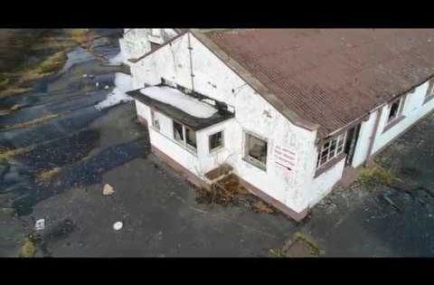 Marley Roof Tile Factory Abandoned Places Uk Dji Phantom 4 Pro Flight In 2020 Marley Roof Tiles Abandoned Places Roof Tiles