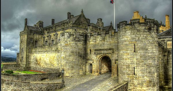 Stirling Castle located in Stirling, Scotland, is one of the largest and
