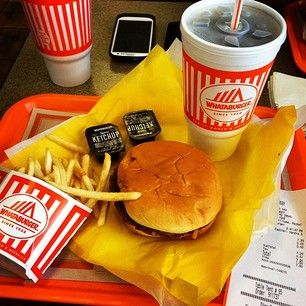 Fast Food Whataburger Only In Texas Food