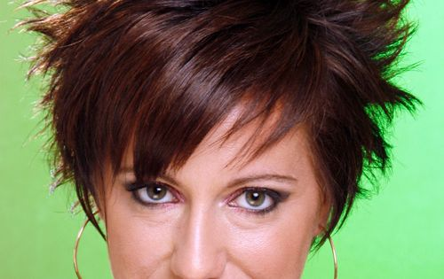 Short Hairstyle - Straight Alternative -