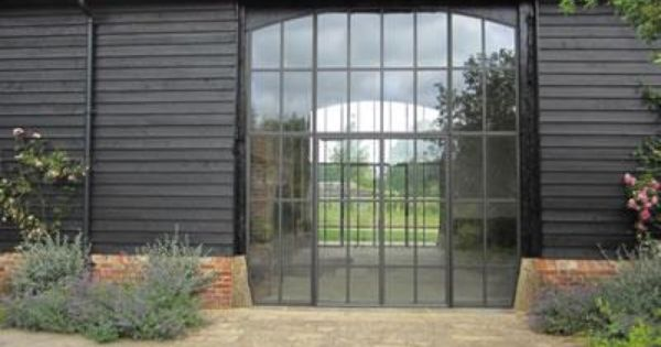 Barn Conversion Doors crittall doors in modern barn conversion | home: we will build
