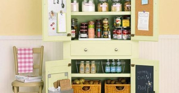 storage solutions for tiny kitchens storage solutions for small spaces armoire pantry storage. Black Bedroom Furniture Sets. Home Design Ideas