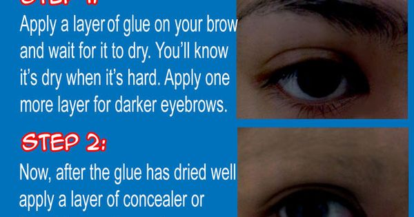 Tutorial: Coloring Eyebrows for Cosplay, finally gonna have the right coloured eyebrows | See more about Eyebrows, Coloring and Cosplay.