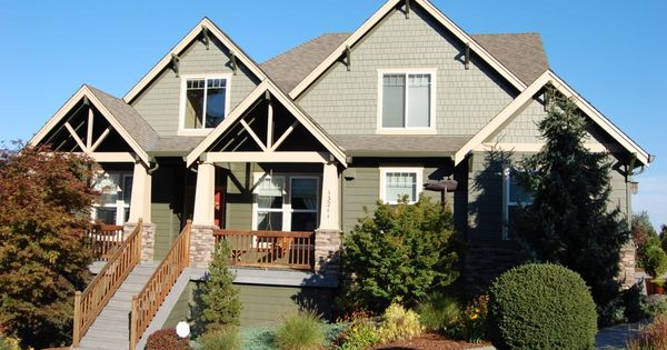 Craftsman exterior paint color painting contractor for Exterior design vancouver wa
