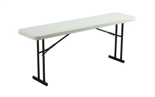 Lifetime 80176 Folding Conference Table 6 Feet White Granite