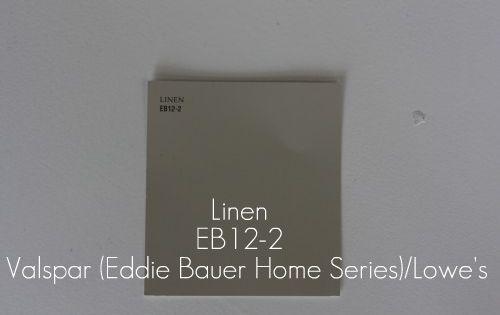 Linen A Valspar Color Part Of The Signature Colors Eddie