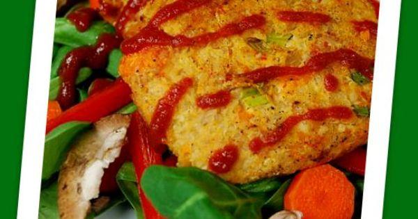 tuna7 Tuna Quinoa Cakes