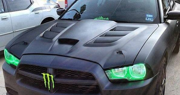 Custom Dodge Charger. Love the monster, but with those vents, it could