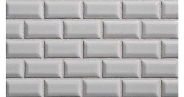 Ceramic Tile Dimensional Mosaic Ceramics Beveled Mini Brick 1 X 2 Mosaic In White Matte Finish Ceramic Mosaic Tile Beveled Subway Tile Dimensional Tile