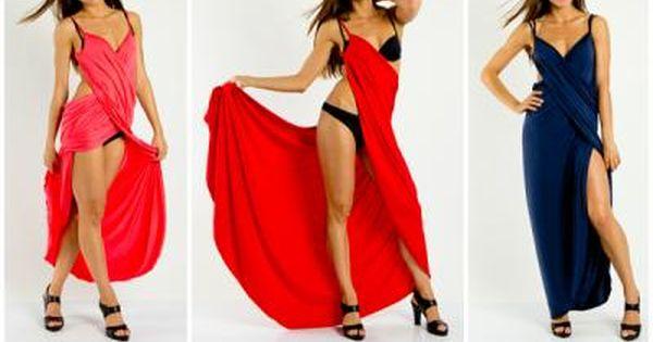 New Pareo Long Tunika Sukienka Na Plaze Lumide 4400309834 Oficjalne Archiwum Allegro Dresses Formal Dresses Summer Bikinis