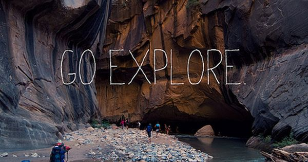 The Narrows at Zion National Park Utah..absolutely beautiful! adventure quote outdoors 1816