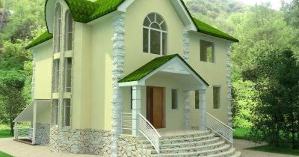 European House Design BREATHTAKING HOMES Pinterest Orange