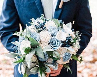 This Item Is Unavailable Bridal Bouquet Blue Blue Wedding Flowers Sola Flower Bouquet