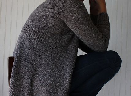 Linney Cardigan by Amy Christoffers. I knit another cardi by her and