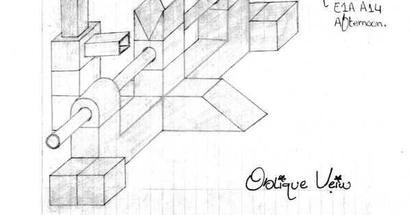 pin by  iamtechnical com on isometric and oblique engineering drawing
