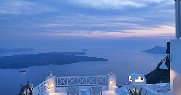 Awesome Setting - Santorini, Greece