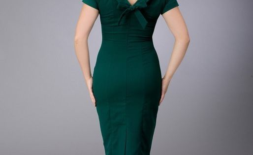 Mad Men style custom dress by heartmycloset on Etsy