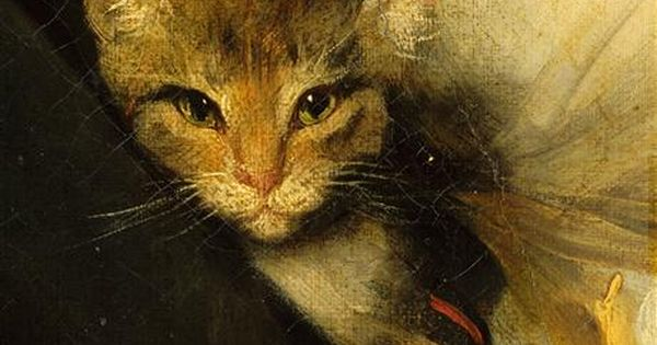 Jeune femme et petit gar on tenant un chat ouvrir dans une for Ouvrir une nouvelle fenetre
