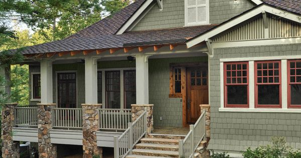 Plycem Trim Exterior Paint Colors For House Green Roof House House Colors