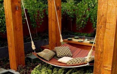 gartenschaukel selber bauen wundersch ne ideen und tipps f r sie garten pinterest. Black Bedroom Furniture Sets. Home Design Ideas