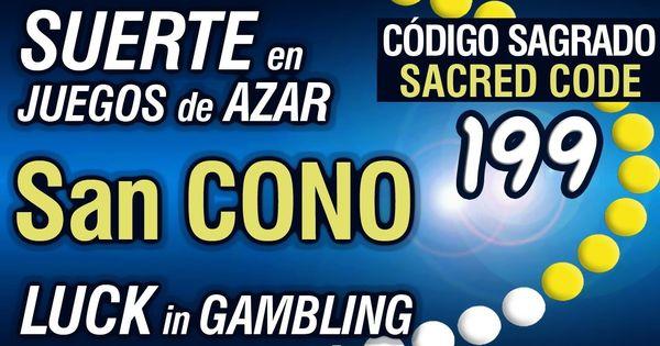 199 Suerte En Juegos De Azar Luck In Gambling San Cono Código Sagra Youtube Healing Codes Switch Words