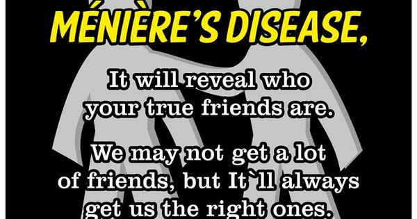Menieres Disease Awareness This Is So True Many People