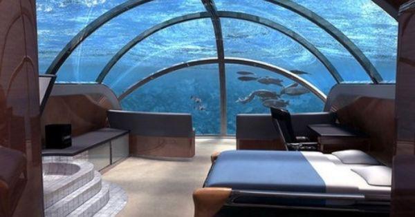 underwater hotel Fiji...def on bucket List!