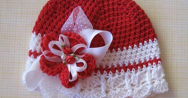Santa Baby Hat Crochet Pattern