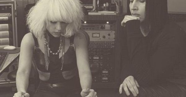 Marilyn Manson And Lady Gaga Hookup