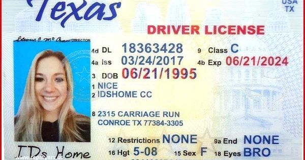 Pin On Driver Licencespecial Agent Pvc Id Card C511pvc Fake License Template Tekewpart Wa State Lice Driver License Online Drivers License Id Card Template