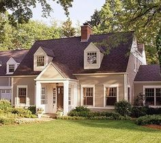 Landscaping Ideas For Front Of Cape Cod House Google Search Cape Cod Style House Cape Cod Exterior Exterior House Remodel