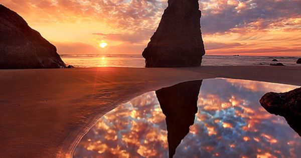 Wizards Hat, Bandon Oregon - the Oregon coast is always a beautiful