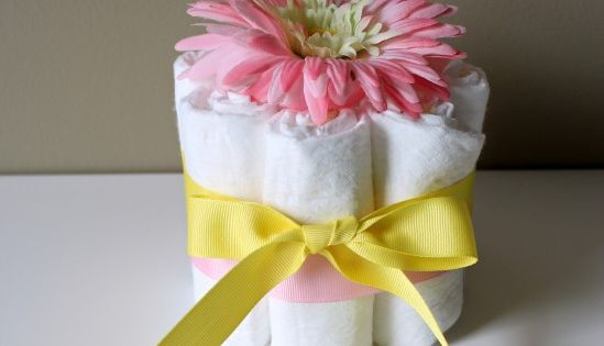 Sweet and simple baby shower centerpieces fun games