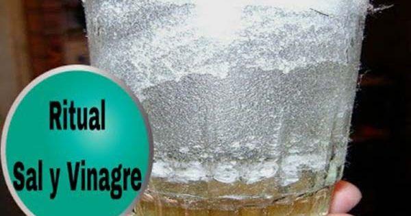 Ritual de la sal y el vinagre eliminar energ as - Limpieza de casa con sal ...