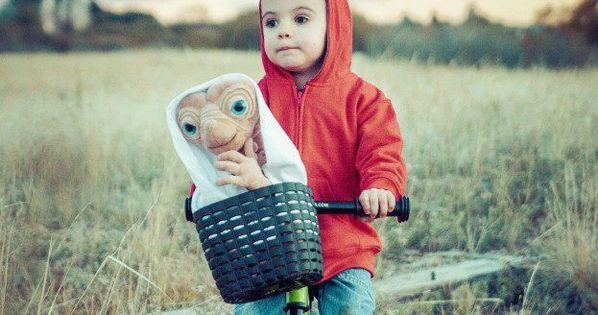 A brilliant Halloween costume idea for kids.