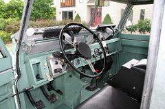 Land Rover Series II Interior
