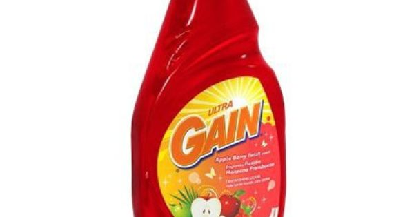 Gain Apple Berry Laundry Detergent 30 Oz Opens In A New Window Laundry Detergent Dish Soap Bottle Dishwashing Liquid