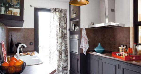 Relooker une cuisine rustique maison travaux d co interieure pinterest cuisine for Relooker une maison