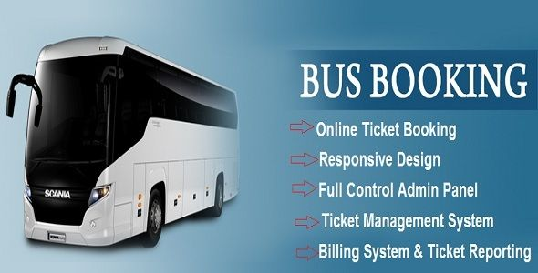 Ebus Online Bus Reservation Ticket Booking System With Images