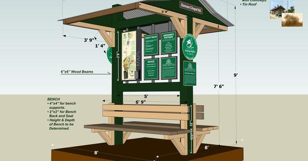 Outdoor park kiosk design google search kiosks for Garden kiosk designs
