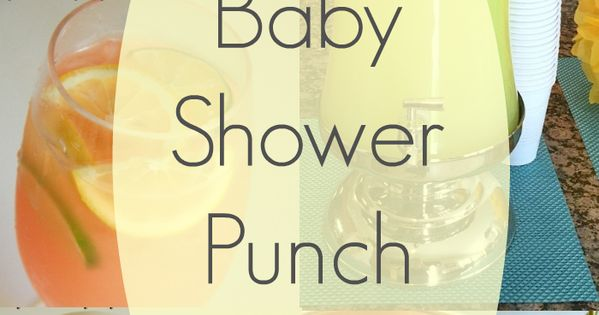 baby shower drinks pink punch recipes baby shower drinks and baby