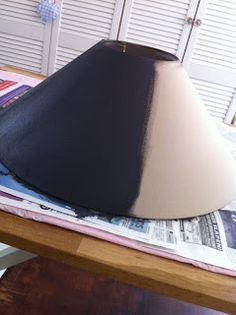 Verbazingwekkend Lampenkap schilderen | Lampenkap, Doe-het-zelf lampenkap CE-17
