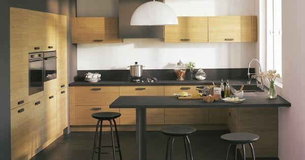 Cuisine alinea bois future maison cuisine pinterest for Alinea cuisine amenagee